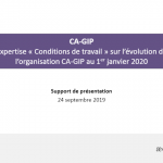 Réorganisation 2020 – Expertise: Présentation aux élus du CSE