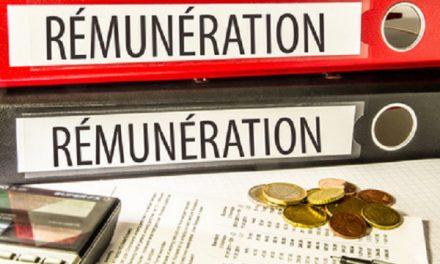 Avril 2020 – Rémunération Variable